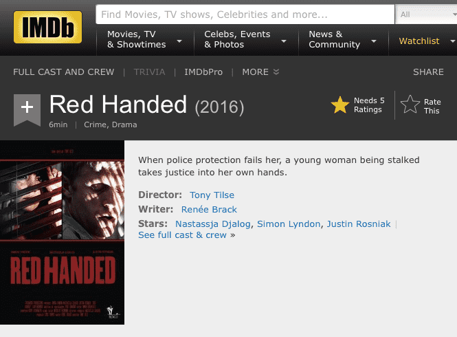 Red Handed Gets Made Again